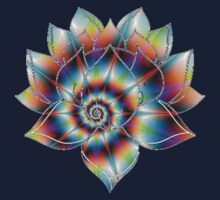 Psychedelic Lotus One Piece - Long Sleeve