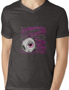 The Fact Sphere is the Most Handsome Sphere Mens V-Neck T-Shirt