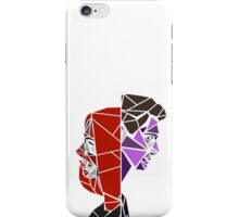 Black Widow & Hawkeye Geometric Design iPhone Case/Skin