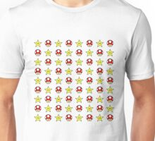 Mushrooms and Stars Unisex T-Shirt