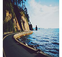 Seawall Photographic Print