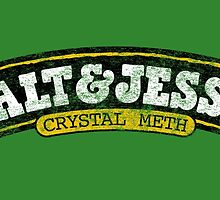 Walt & Jesse's (Distressed) by DrRoger