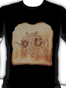 Blessed Noodly Appendages on Toast T-Shirt