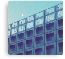 Moon Over Stadium  Canvas Print