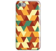 Triangle world iPhone Case/Skin