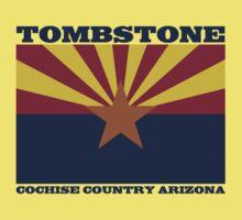 Vintage Tombstone Cochise Arizona One Piece - Short Sleeve