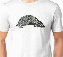 Badger Lino Print Unisex T-Shirt
