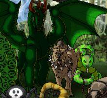 Faint Dawn: Part 1 Enemies Sticker