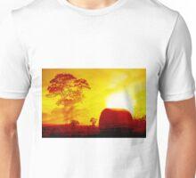 BALES AT SUNSET Unisex T-Shirt
