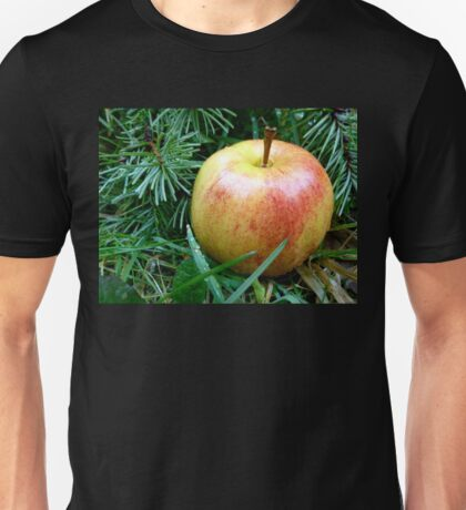 Apple in the Rain Unisex T-Shirt