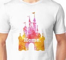 Castle Pink/Yellow Glitter Unisex T-Shirt