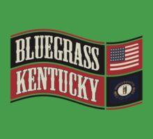 Bluegrass Kentucky Wave Kids Tee