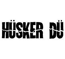 Husker Du Photographic Print