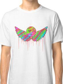Wing Rainbow Skull Classic T-Shirt