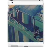 Painting Ford GT Engine Part iPad Case/Skin