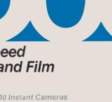 Polaroid Film 600 Sticker