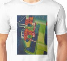Painting Fiat 500 Abarth Racing Gear Lever Unisex T-Shirt