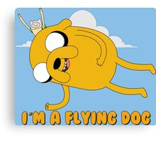 Adventure Time - Flying Jake Canvas Print