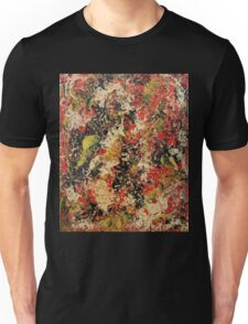 Abstract Red & Black Unisex T-Shirt