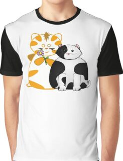 Frazzle and Basil Teamwork Tee Graphic T-Shirt