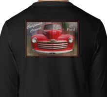 Little Red - 1947 Ford Pickup Truck Long Sleeve T-Shirt