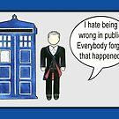 Doctor Who 12 Quotes #1 by RiverbyNight