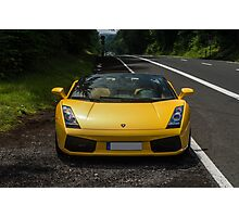 Lamborghini Gallardo Spyder Photographic Print
