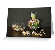 Aussie Shells & Antique Porcelain Greeting Card
