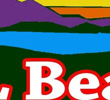 LL Bean Sunrise Sticker