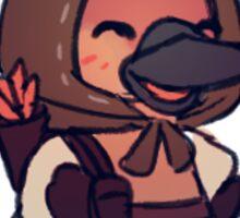 Sticker - archer platypus Sticker