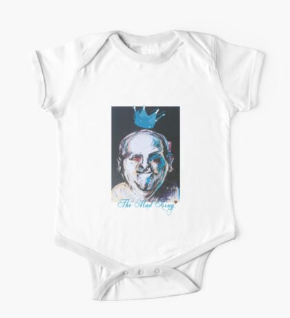 The Mad King (Original Drawing by Alice Iordache) One Piece - Short Sleeve