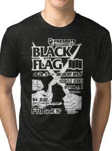 Old Black Flag Flyer Tri-blend T-Shirt