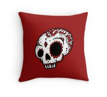 DMU Sugar Skull Throw Pillow
