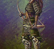 Elven Ranger by RedStudioRat