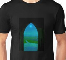 The Tor door and poem about Unisex T-Shirt