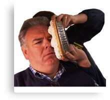 Jerry Gergich - Pie in Face Canvas Print