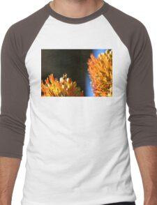 Bee with dark background Men's Baseball ¾ T-Shirt