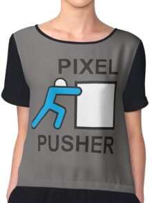PIXEL PUSHER Chiffon Top