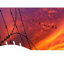Arizona Sunset. Papers, please! Photographic Print
