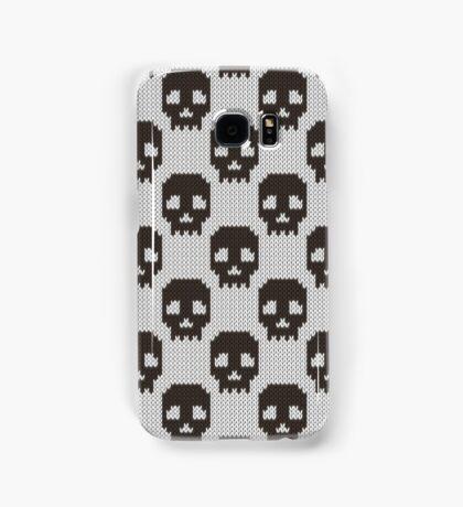 Knitted skull pattern Samsung Galaxy Case/Skin