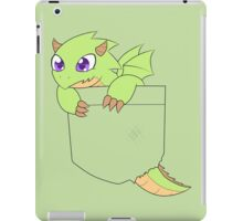 Green pocket dragon iPad Case/Skin