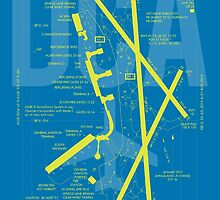 DCA Washington Airport Diagram by YHMDesigns