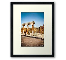Roman Square Framed Print