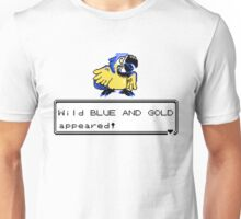 Blue and Gold Sprite Unisex T-Shirt