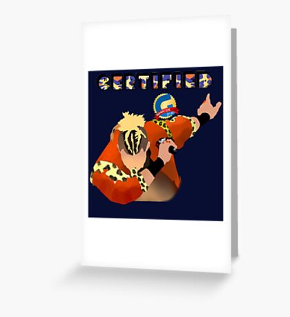 Certified G [V.2] | Enzo Amore Greeting Card