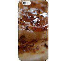 Pancake Dessert With Bananas, Caramel And Whipped Cream iPhone Case/Skin
