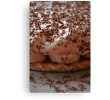 Pie Dessert - Banoffee Pie Canvas Print
