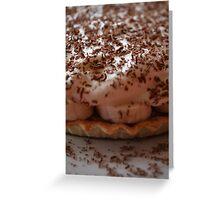 Pie Dessert - Banoffee Pie Greeting Card