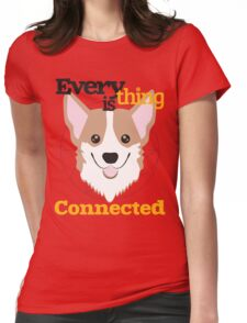 Everything is Connected Womens Fitted T-Shirt