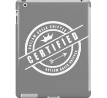 Outlaw Queen Shipper iPad Case/Skin